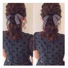 yukinoさんありがとうございました♡ なみなみハーフアップ(*^^*) このお色のリボン人気♡ またお待ちしております♡ #hair #hairarrange #hairstyle #wadamiarrange #arrange #ヘアスタイル #ウェディング #ブライダル #ヘアアレンジ #ヘア #アレンジ #ファッション #ヘアメイク #メイク #愛知 #名古屋 #美容師 #美容室 #LOREN #lorensalon