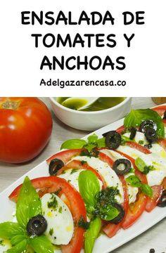 10 recetas de ensaladas que no llevan lechuga y ayudan a perder peso rápido - Adelgazar en casa Caprese Salad, Salads, Sandwiches, Keto, Healthy Recipes, Food, Frijoles, Tortilla, Videos