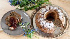 Fotorecept: Džemová bábovka Bagel, Doughnut, French Toast, Bread, Breakfast, Desserts, Food, Basket, Morning Coffee