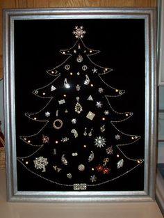 [주시크] Costume Jewelry Christmas Tree - 커스텀주얼리 크리스마스트리~^^ : 네이버 블로그