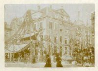 versiering van het gouden hooft 1890 den haag
