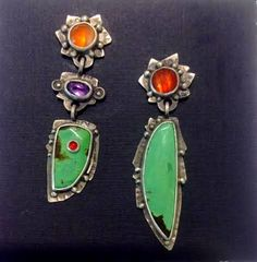 Earrings - Chinese Turquoise
