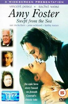 Swept From the Sea starring Rachel Weisz, Vincent Perez, et atl. The film tells the story of Russian emigree and the only survivor from ship crash Yanko Goorall and servant Amy Foster in the end of 19th century.