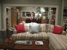 The house was based on a Craftsman found in Pasadena, and original period details are seen throughout the set.