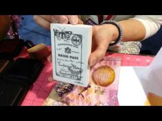 La Blanche Stamps LIVE from CHA with Charity Wings - YouTube  BEAUTIFUL  BEAUTIFUL  BEAUTIFUL