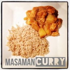 #glutenfree #dairyfree #thai #curry #masamancurry #ms #diet #multiplesclerosis #healthy #cleaneating