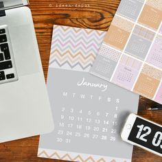 DIN A4 - Kalender 2018, DIN A4 - ein Designerstück von ideen-depot bei DaWanda