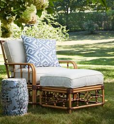 There's something artistic and inventive about rattan furnishings. The intricate weaving, the modern and expressive designs evident in up to date items encourage shoppers to purchase a chunk … Rattan Outdoor Furniture, Outside Furniture, Bamboo Furniture, Patio Furniture Sets, Sofa Furniture, Furniture Design, Outdoor Decor, Rattan Chairs, Rustic Furniture