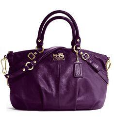 Coach Bag. Love the color!