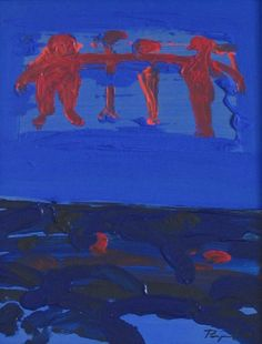 Painting Pospíšil Jan - Lightness of Being: framed painting - acrylic on hardboard, signed bottom right: Pospíšil, image size: x 24 cm, frame size: x 35 cm Painting Gallery, Painting Frames, Frame Sizes, Lighting, Image, Art, Art Background, Kunst, Lights