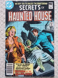Secrets of the haunted house