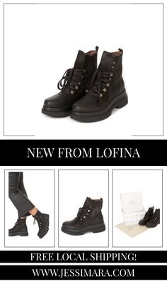 These Black Platform Wedge Lace Up Boots by Lofina is perfect for your A/W look! The patent leather gives the boot that special touch! Black Platform Wedges, Lace Up Boots, All Black Sneakers, Patent Leather, Shop Now, Touch, How To Wear, Shopping, Shoes