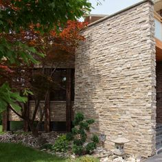 Dry Stack Stone Laid in Mortar, Delhi Harvest and Sandstone Beach Colour Mix - http://www.stonerox.com