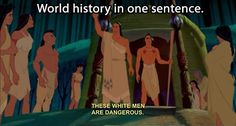 World history in one sentence…