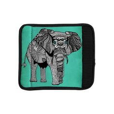 Shop for KESS InHouse Pom Graphic Design 'Elephant of Namibia Color' Luggage Handle Wrap. Get free delivery On EVERYTHING* Overstock - Your Online Travel Accessories Shop! You Bag, Laptop Bag, Travel Accessories, Luggage Bags, Trip Planning, Color Patterns, Traveling By Yourself, Zip Around Wallet, Elephant