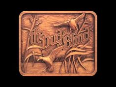 ▶ Relief Wood Carving Intro using High Speed Engraving - YouTube