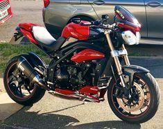 Triumph Street Triple, Rockets, Sport Bikes, Motorbikes, Motorcycles, Big, Vehicles, Sportbikes, Sport Motorcycles