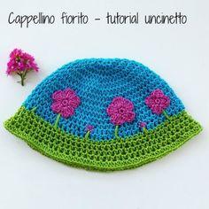tutorial_uncinetto_cappellino_fiorito