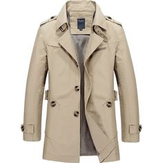 Men's Luxury High Quality Casual Trench Coat – 4launt