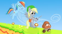 Derpy is Link by ~disicut on deviantART