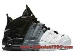 buy online d4873 5a769 Nike Air More Uptempo Tri-Color 921948-002 Chaussures de BasketBall Pas  Cher Pour