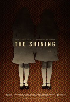 """The Shining"" one of the best scary movies. Take one Stephen King novel.add one great performance by JACK.that equal ""perfection"" in my opinion! Scary Movies To Watch, Best Horror Movies, Horror Movie Posters, Great Movies, Stanley Kubrick, Stephen King Novels, Plakat Design, Best Horrors, Halloween Movies"