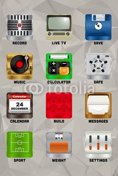 Mobile device icons v2.0