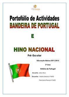 Portofolio de actividades sobre a Bandeira de Portugal e o Hino Nacional atividades de História sobbre a Bandeira de Portugal e o Hino Nacional para crianças de Pré-escolar