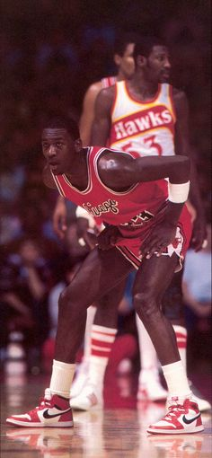 Michael Jordan was the 3rd overall pick in the 1984 NBA draft selected by the Chicago Bulls