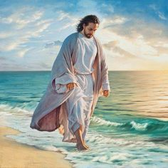 Be Still My Soul by Mark Missman Jesus Beach Christian Religion Print Poster Quality Art Print Direct From Publisher Image Jesus, Pictures Of Jesus Christ, Jesus Pics, Lds Art, Saint Esprit, Jesus Art, Soul Art, Jesus Is Lord, Christian Art