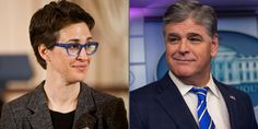 Rachel Maddow Beats Sean Hannity, Takes Title As Most-Watched Cable News Host Duke City, Mirrored Sunglasses, Mens Sunglasses, Sean Hannity, Rachel Maddow, Morning Joe, Us History, Republican Party, Smart People