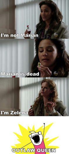 Marian is dead