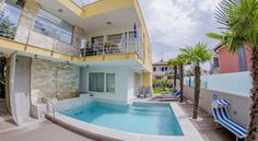€166.80 Villa Danex Superior is set in Punta Tourist Resort, 1.5 km from the centre of Umag.