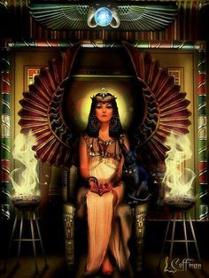 Egyptain Goddess Isis - Attraction of a long-term partner / Conditioning Chakras /  Communcation Skills / Diplomacy / Divination / Faithfulness / Healing / Intuition / Attaining long term love /Magical Ablity / Psychism /  Shapeshifting