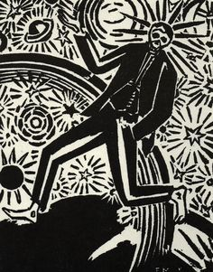 Frans Masereel. Passionate Journey. 1919.