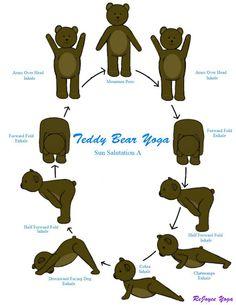 ReJoyceYoga: ReJoyce Yoga Cartoon: Sun Salutation A