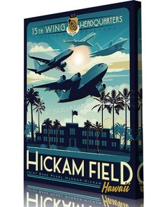 Share Squadron Posters for a 10% off coupon! Hickam Field Plans & Programs #http://www.pinterest.com/squadronposters/