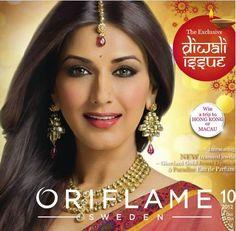 Oriflame India October 10 2012 Catalogue