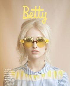 Betty Magazine Summer | http://hairstylecollections.blogspot.com