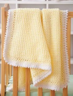 Sweet & Simple Baby Blankets Crochet Pattern Book AA 871376
