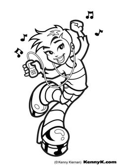 boys and girls dancing coloring pages | 2467 Best Color Me Dance images in 2019 | Color, Coloring ...