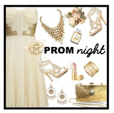 """Perfect Prom Night-Aphrodite"" by majezy ❤ liked on Polyvore featuring Caparros, Lipsy, Valentino and Too Faced Cosmetics"