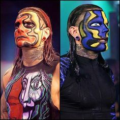 2 faces of Jeff Hardy
