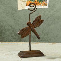 Dragonfly Memo Holder