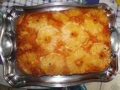 Imagem da receita Bolo de abacaxi caramelizado muito simples