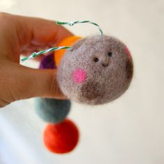 needle felted inch worm | Flickr - Photo Sharing!