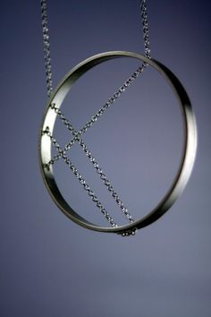 Inner Circle necklace - simple but striking.