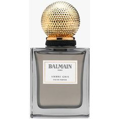 Balmain Ambre Gris ($81) ❤ liked on Polyvore featuring beauty products, fragrance, balmain fragrance, parfum fragrance, balmain perfume, balmain and perfume fragrance