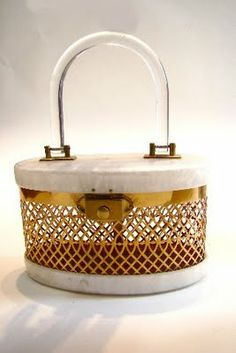 A lucite bag... fancy one of these