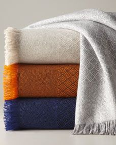"CASHMERE THROW FROM THE KEN DOWNING GIFT COLLECTION ($595). A cashmere blanket is an essential part of every holiday.""--Eddie Borgo"